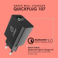 Uneed Quick Plug Wall Charger Qualcomm Quick Charge 3.0 - UCH107