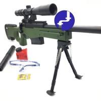 Mainan Anak Tembak Sniper Magnum AWP Water Bullet Gun MA908