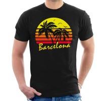 Kaos Barcelona Vintage Sun T-shirt