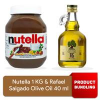 PROMO - Nutella 1 kg & Rafael Salgado Minyak Zaitun 40 ml