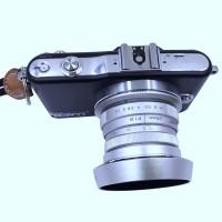 Newyi 25mm f / 1.8 CCTV Lensa untuk MFT Mount Kamera & Hood Adapter
