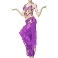 Belly dance clothes costume belly dance set indian dance wear 2pcs T