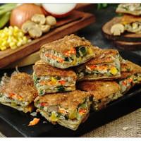 Martabak Pizza Orins Telur Vegetarian
