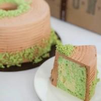 Union Bolu Pandan Cake 24cm (Kue Ulang Tahun/Birthday)