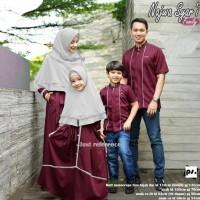 TERBARU BAJU COUPLE FAMILY MUSLIM SERAGAM KELUARGA NAJWA 1 BEST