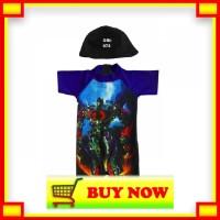 ⭐️Promo⭐️ Baju Renang Bayi Karakter Transformer Terbaru Lucu -