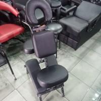 Kursi Pijat Refleksi Punggung Salon SPA Bangku Reclining Alat