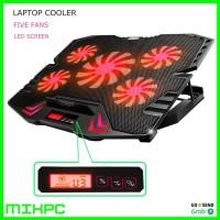 ICE FAN Cooling Pad Laptop 5 Kipas K5