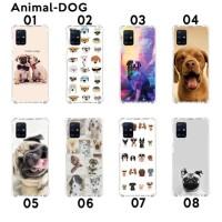 Custom Casing Softcase Anticrack Samsung A51 Motif Anjing Dog Lucu