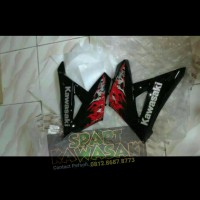 undercawl fairing fering bawah kanan Ninja RR new Merah 2013 Original