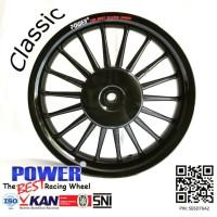 velg racing vario 125 / 150 lama power classic hitam