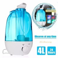 Ultrasonic Aroma Diffuser Carved Design Air Humidifier Large 4000ML