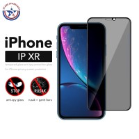 Anti Spy Tempered Glass iPhone XR / Antispy Antigores / Anti Gores - iPhone XR SPY, Hitam