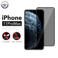 Anti Spy Tempered Glass iPhone 11 Pro Max / Antispy Antigores