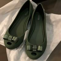 Jelly Shoes - Sepatu Wanita - Melissa Ultragirl Bow Chrome