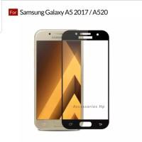 Samsung A5 2017 Tempered Glass Anti Gores Kaca Screen Guard Full Cover