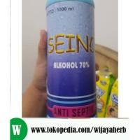 ALKOHOL 70 PERSEN ANTISEPTIK SEINO 1 LITER