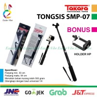 MONOPOD TAKARA SMP-07 TONGSIS MIRIP ATTANTA SMP07 - BLACK