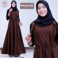 Baju Terusan Anak Perempuan Remaja Muslim Longdress Rahmania 2 Maxy