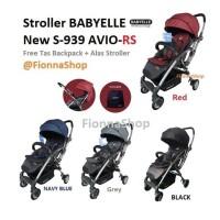 Stroller Kereta Bayi BabyElle Avio Rs Hadap Depan Belakang 939 Gojek