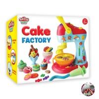 Mainan Fundoh Cake Factory Fun Doh Anak Playdough Dough Malam Lilin