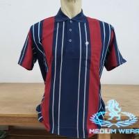 Kaos Kerah Salur Saku L/XL Allsize Dewasa / Poloshirt