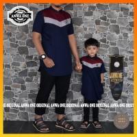 Baju Koko Pria - Pakaian Muslim Pria - Koko Couple Anak Ayah