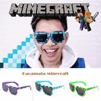 Kacamata Minecraft Gaming Minecraft Sunglasses Aksesoris Fashion Anak