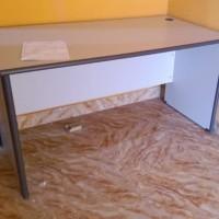 Termurah Meja Kantor Uno Classic 150cm grey