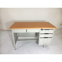 Meja Kantor Besi 1/2 biro , Meja kerja besi