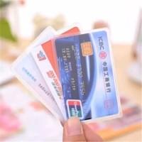 Plastik Kartu ATM SIM KTP Pelindung Anti Gores 1buah