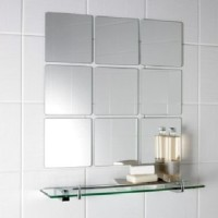 wall mirror acyrlic kotak sticker cermin arkilik