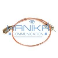 Kabel Jumper Teflon SWR ke Antena PL M to PL M Jamper Radio HT Rig