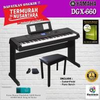 Yamaha DGX 660 + Kursi / 660B / DGX-660B / DGX660 / DGX660B Digital