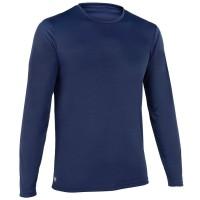 Olaian Kaos Lengan Panjang Biru Anti UV Pria Decathlon - 8584524