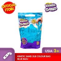 Mainan Edukasi KINETIC SAND 2lb Colour Bag Blue Bleu