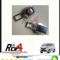 Mobil Colokan Seatbelt Seat Belt Safety Logo Toyota Kulit Apv Arena