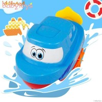Mainan Bak Mandi Bentuk Kapal Berenang Putar Jalan untuk Bayi / Anak