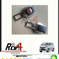 Mobil Colokan Seatbelt - Seat Belt - Safety Belt Logo Toyota Kulit Apv