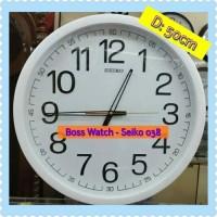 Jam Dinding Seiko 038 (D: 50cm). Dijamin Murah!! Garansi 1 Tahun!!