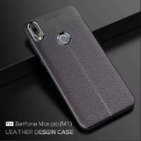Asus Zenfone Max Pro M1 Soft Case Auto Focus Leather Casing