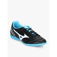 Sepatu Futsal MIZUNO Monarcida Fs In - Black White Blue