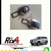 Mobil Colokan Seat Belt Safety Kulit 2016 Fortuner New All Toyota