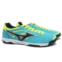 Sepatu Futsal Mizuno Sala Classic 2 In - Blue Yellow