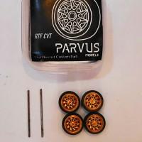 Parvus Models Ban Karet Rotiform CVT RTF 1 64 ukuran 9 mm miniscale