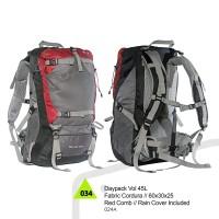 Tas Carier/Gunung 45 L Hiking TRKG Daypack carrier Outdoor 45L (liter)
