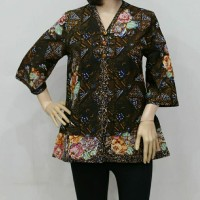 Blouse batik tulis/baju blouse/batik wanita/blus eksklusif/batik