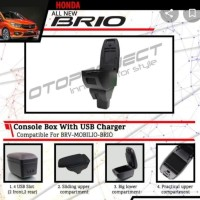 Consule Box Arm Rest Honda Brio Brv Mobilio