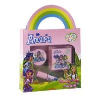 AMARA Make Up Kit Beauty Bag Kosmetik Aman Anak BPOM