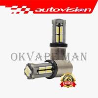 Autovision Microzen LED BA9S Canbus Putih White Lampu Mundur Sein Sen
